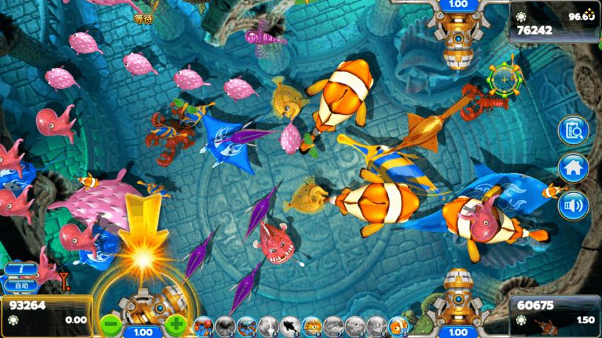 เกมยิงปลา HAPPY FISH 5